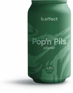 B.Effect Pop'n Pils Pilsner NZ Craft Beer