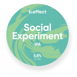 b.effect Social Experiment IPA NZ Craft Beer
