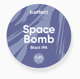 b.effect Space Bomb Black IPA NZ Craft Beer